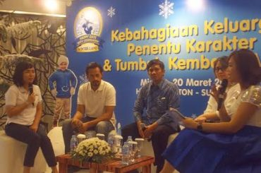 Nestle LACTOGROW Gelar Happy Winter Land Di Surabaya