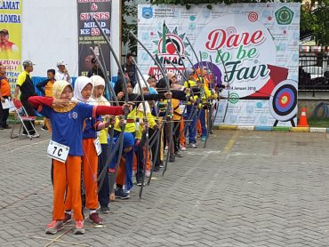 SDM 4 Pucang Surabaya Gelar Muhammadiyah National Archery Competition