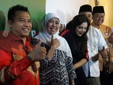 All Out Dukung Khofifah-Emil, Anang Hermansyah Ciptakan Jingle dan Jadi Jurkam