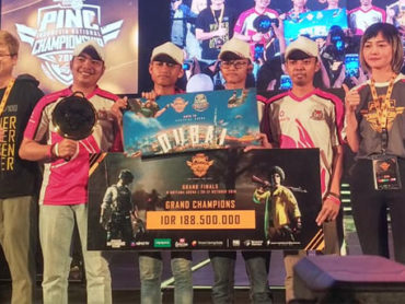 Bigetron Esport Juara PUBG Indonesia National Championship 2018
