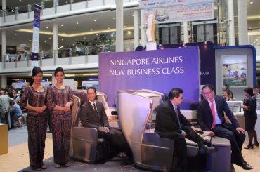 Singapore Airlines Travel Fair Surabaya Tawarkan Penerbangan Terbaik