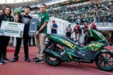 Tetrawan Edo Kusuma, Bonek Pemenang Lelang Honda PCX Persebaya