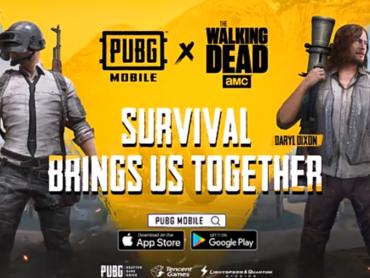 Ini Kolaborasi Terbaru PUBG Mobile dengan Walking Dead