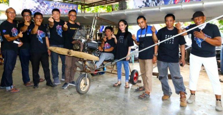 Pria Ini Menciptakan Pesawat Dari Mesin Kawasaki Ninja