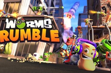 Wow! Worms Rumble Usung Konsep Battle Royale